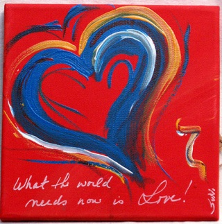 LoveNotes-What the World needs now is Love!!